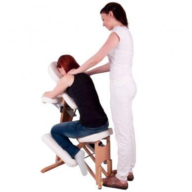 Medinis sulankstomas masažo stalas inSPORTline Massy 11