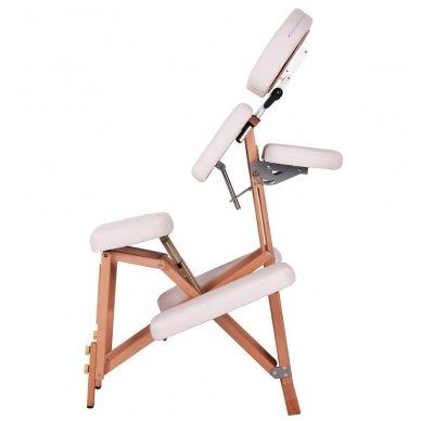 Medinis sulankstomas masažo stalas inSPORTline Massy 3