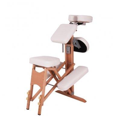 Medinis sulankstomas masažo stalas inSPORTline Massy 6