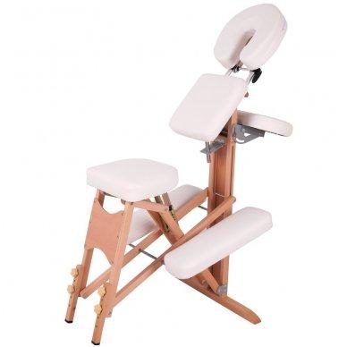 Medinis sulankstomas masažo stalas inSPORTline Massy