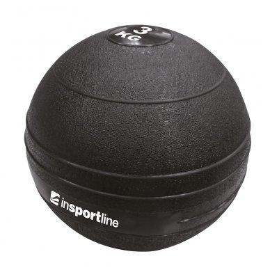 Minkštas svorinis kamuolys mėtymui inSPORTline SlamBall 3kg