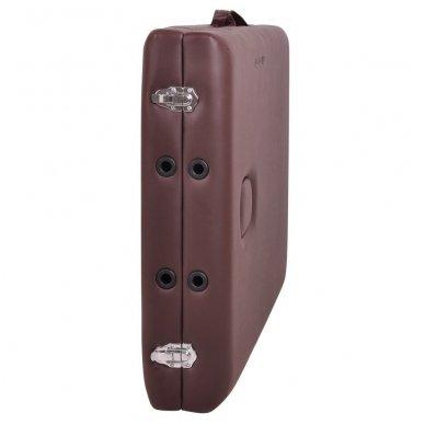 Mobilus medinis masažo stalas 2 dalių inSPORTline Taisage (juodas) 11