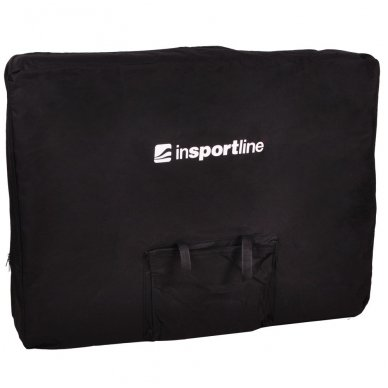 Mobilus medinis masažo stalas 2 dalių inSPORTline Taisage (juodas) 13