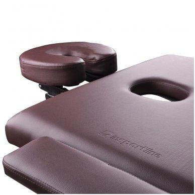 Mobilus medinis masažo stalas 2 dalių inSPORTline Taisage (juodas) 6