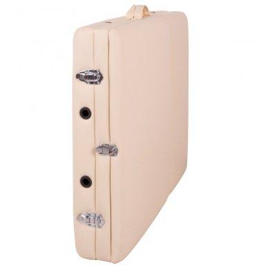Mobilus medinis masažo stalas 3 dalių inSPORTline Japane (rudas) 12