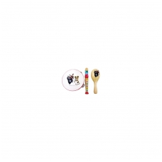 Muzikinių instrumentų rinkinys (3 vnt.)