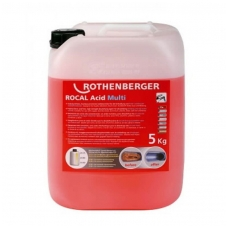 Nukalkinimo skystis ROTHENBERGER RoCal Acid Multi 5,0 kg