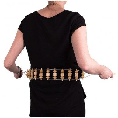 Nugaros masažuoklis inSPORTline Heddox 3