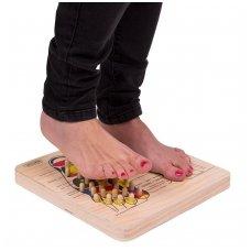 Pėdų taškinio masažo lenta inSPORTline Ashiqua
