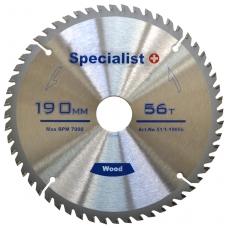 Pjovimo diskas 190x20Tx30/20/16 mm