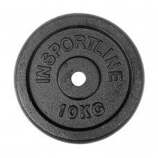 Plieninis svoris grifui 30mm inSPORTline 10kg