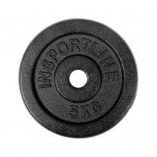 Plieninis svoris grifui 30mm inSPORTline 5kg