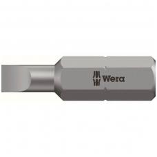 Plokščias atsuktuvo antgalis WERA 800/1Z 0,5x3,0x25 mm