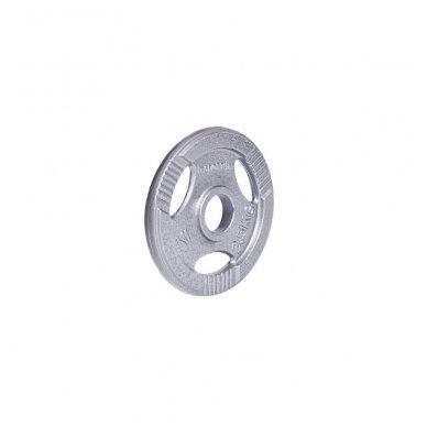 Plieninis svoris grifui 30mm inSPORTline Hamerton 2.5kg 2