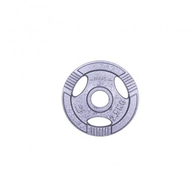 Plieninis svoris grifui 30mm inSPORTline Hamerton 2.5kg