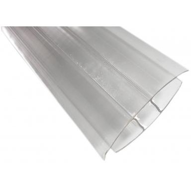 Profilis sujungiamasis 10mm 6m šiltnamiams