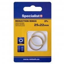 Redukc. žiedas 25,4x20x1,2/1,4/2 3 vnt.