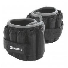 Reguliuojami kojų ir rankų svoriai inSPORTline AnklerX 2x2.25kg