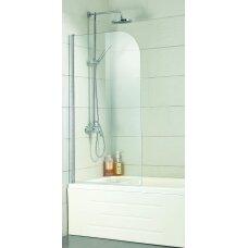 Sienelė vonios A6211 80x150 skaidri