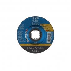 Šlifavimo diskas PFERD E125-7 PSF STEEL/X-LOCK