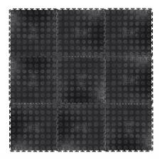 Sportinė danga inSPORTline Avero 33x33x0.6cm (9vnt.) - Black