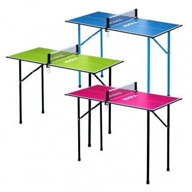 Stalo teniso mini-stalas Joola Mini 90x45cm (mėlynas) 2