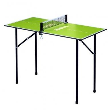 Stalo teniso mini-stalas Joola Mini 90x45cm (žalias)