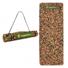 Treniruočių kilimėlis inSPORTline Camu Brown 173x61x0.4cm