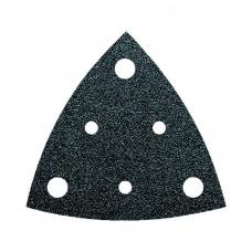 Trikampiai perforuoti šlifavimo lapeliai K120 FEIN 5 vnt.
