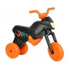 Vaikiškas balansinis triratukas (iki 20kg) Enduro Maxi Black-Orange