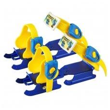 Vaikiškos pačiūžų geležtės ant batų Worker Duckss Blue