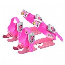 Vaikiškos pačiūžų geležtės ant batų Worker Duckss Pink