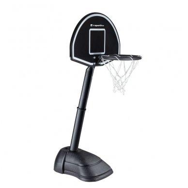 Vaikiškas reguliuojamas krepšinio stovas inSPORTline Blakster 2