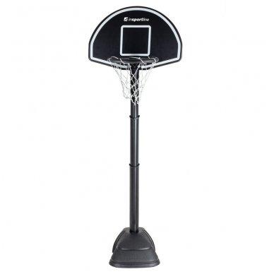 Vaikiškas reguliuojamas krepšinio stovas inSPORTline Blakster