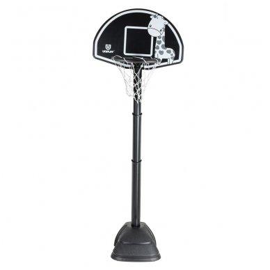 Vaikiškas reguliuojamas krepšinio stovas inSPORTline Giraffe