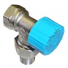 Vožtuvas termostattinis R401H 1/2 kampinis Giacomini