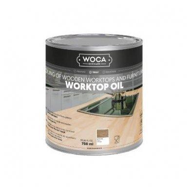WOCA Worktop Oil 0.75L (Virtuvės stalviršių, baldų alyva)